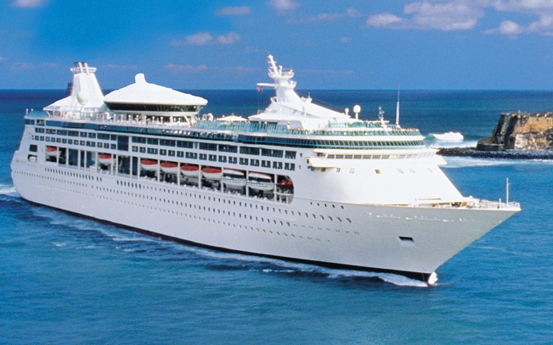 Royal Caribbean's Grandeur of the Seas Cruise Ship, 2019 and