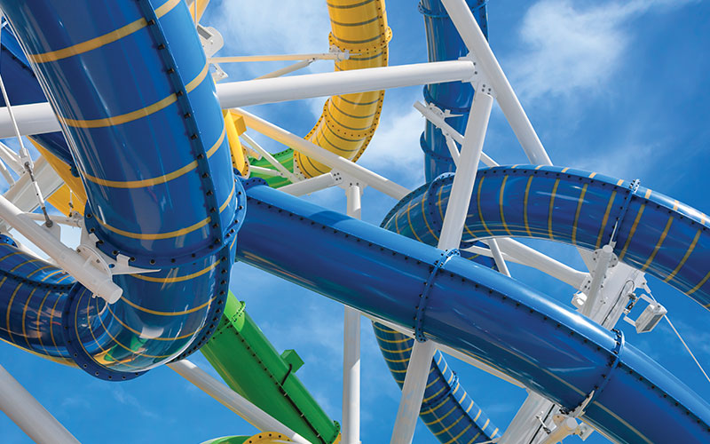 Perfect Storm waterslide