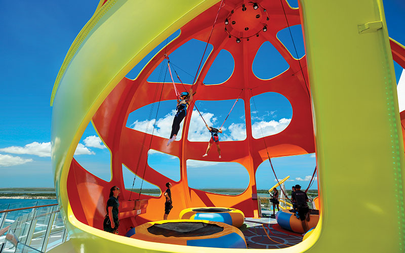 Sky Pad trampoline park
