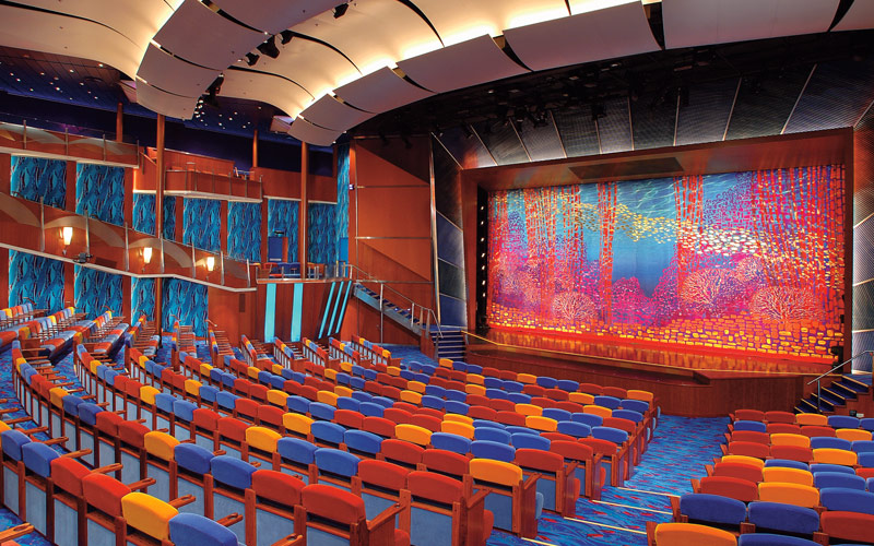 Royal Caribbean Jewel of the Seas Coral Theater