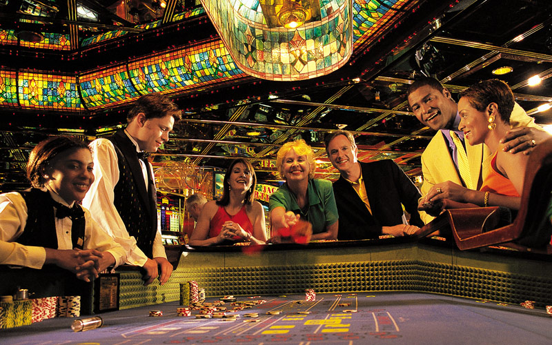 Royal Caribbean Legend of the Seas Casino Throwing