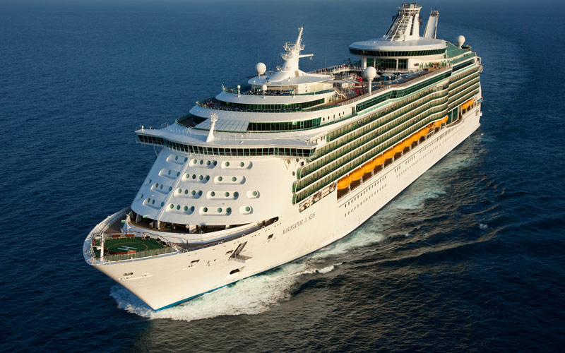 Royal Caribbean Navigator of the Seas exterior