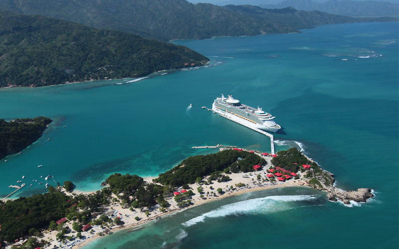 Royal Caribbean Navigator of the Seas Labadee Hait