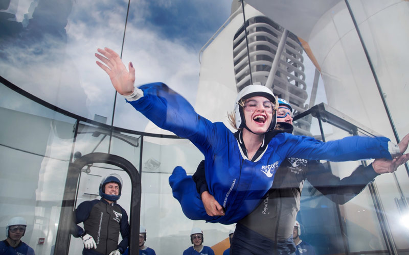 Ovation of the Seas RipCord by iFly