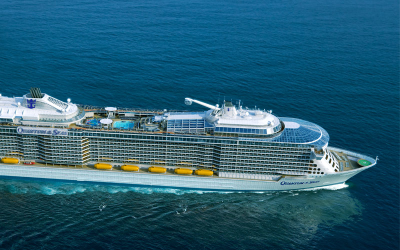 Royal Caribbean Quantum of the Seas exterior