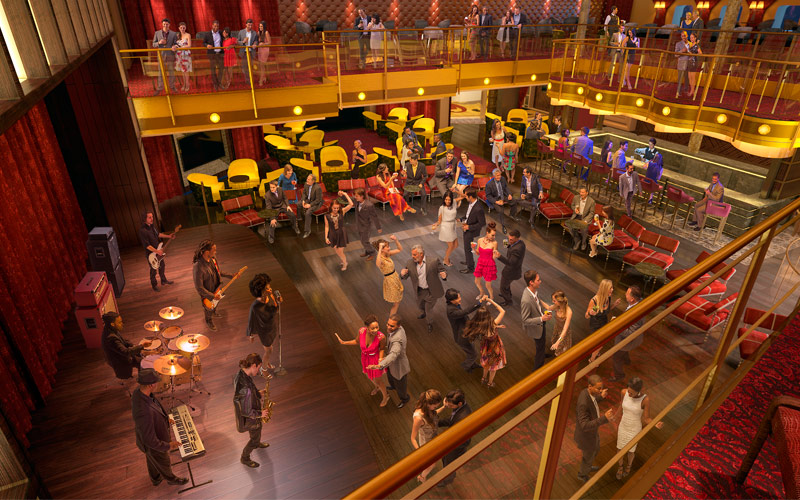 Royal Caribbean Quantum of the Seas Music Hall