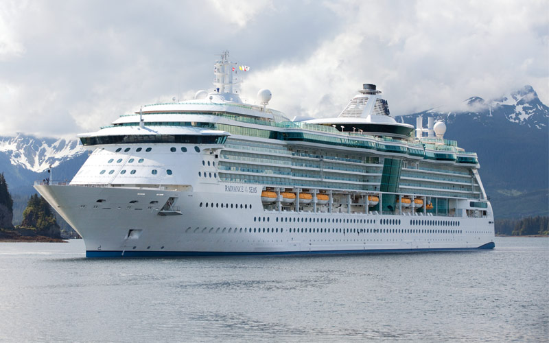 Royal Caribbean Radiance of the Seas exterior
