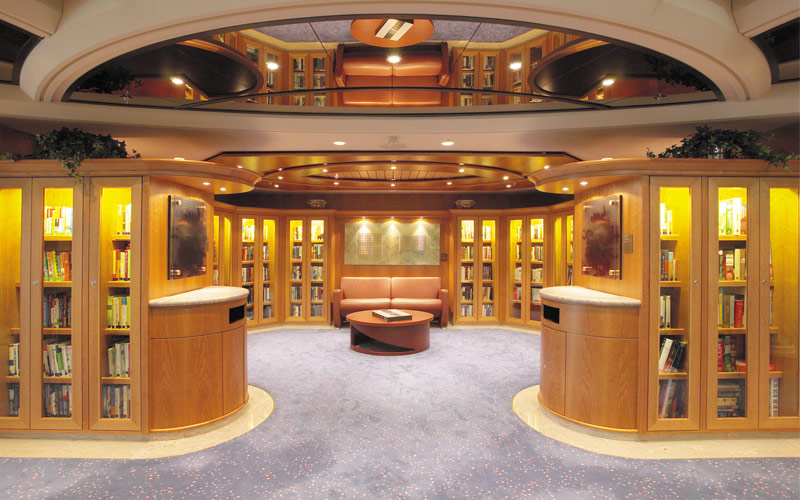 Royal Caribbean Serenade of the Seas library