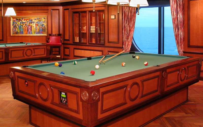 Royal Caribbean Serenade of the Seas pool tables