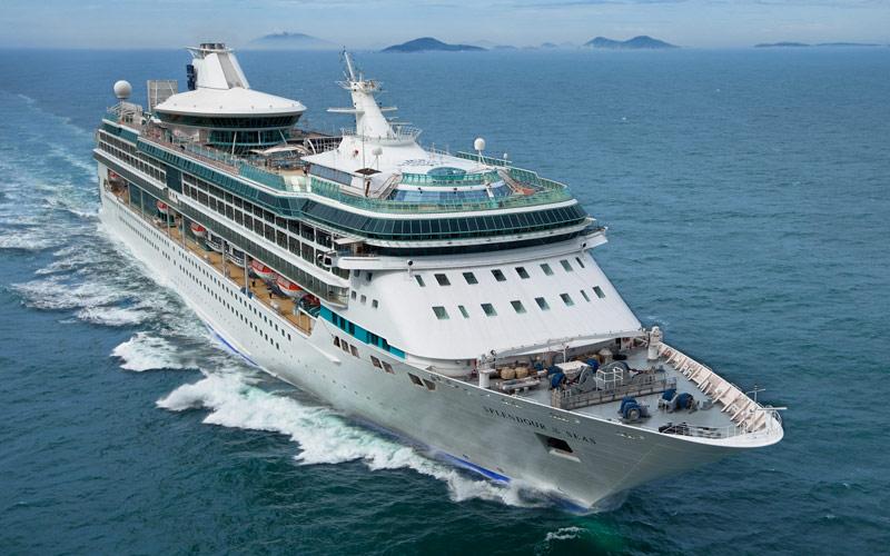 Royal Caribbean S Splendour Of The Seas Cruise Ship 2018