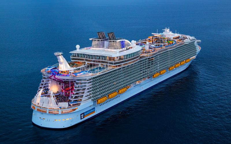 Royal Caribbean Symphony of the Seas exterior