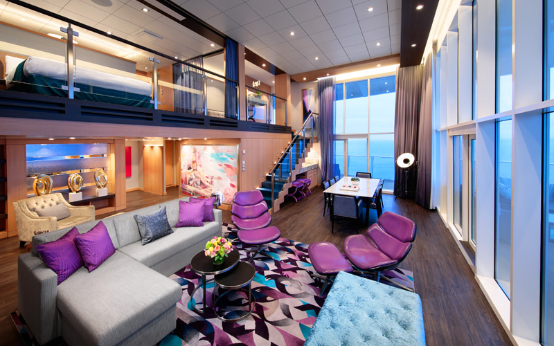 Royal Loft Suite on Symphony of the Seas