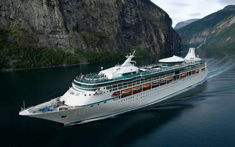 Royal Caribbean Vision of the Seas exterior