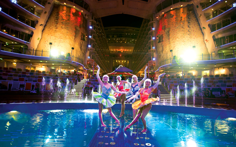 Royal Caribbean Allure of the Seas Aqua Theater Hi