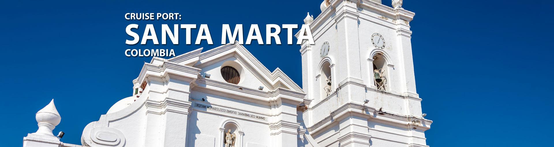 Cruises to Santa Marta, Colombia