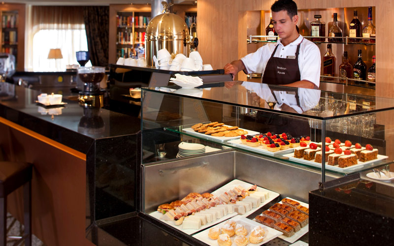 Seabourn Cruise Line Seabourn Odyssey coffee bar