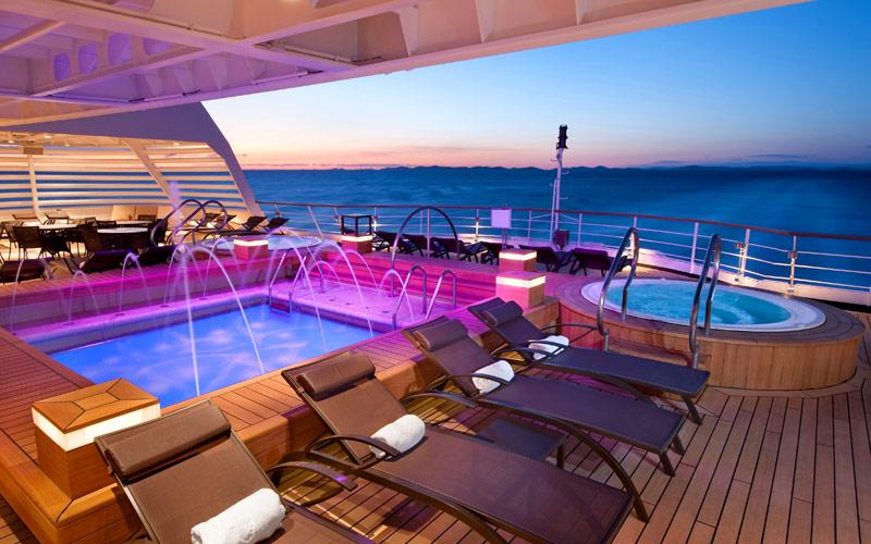 Seabourn Cruise Line Seabourn Odyssey Whirlpool