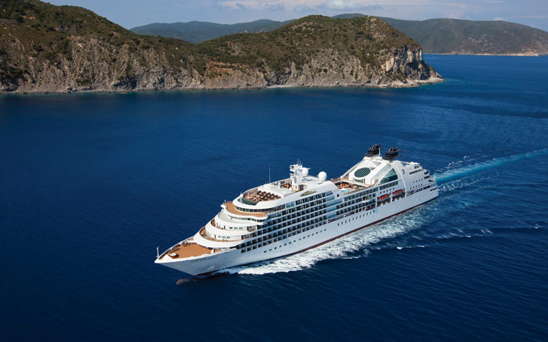 Seabourn Cruise Line Seabourn Quest exterior 01
