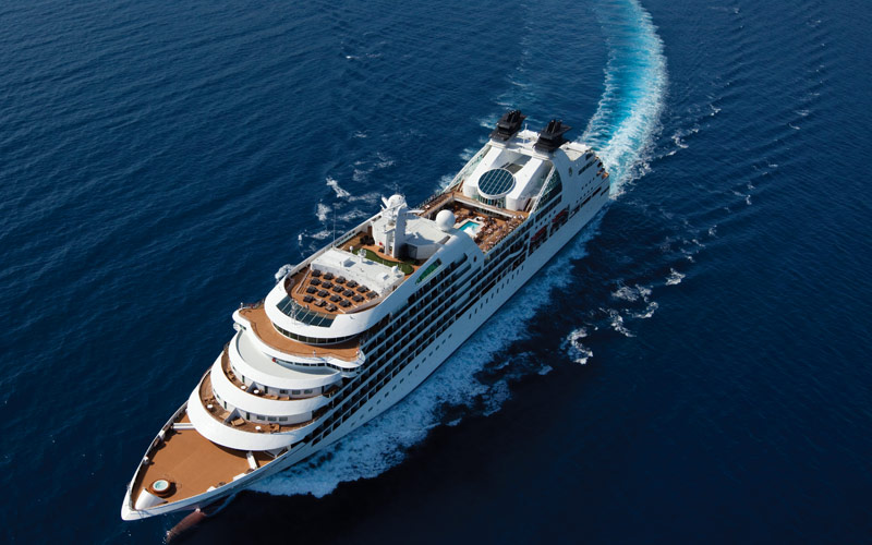 Seabourn Cruise Line Seabourn Quest exterior