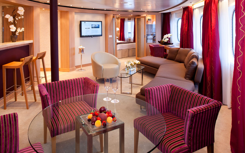 Seabourn Cruise Line Seabourn Quest owners suite