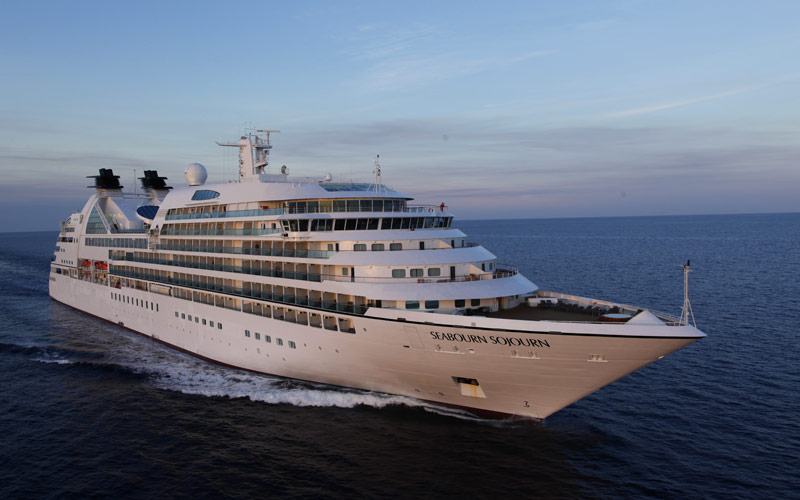 Seabourn Cruise Line Seabourn Sojourn exterior