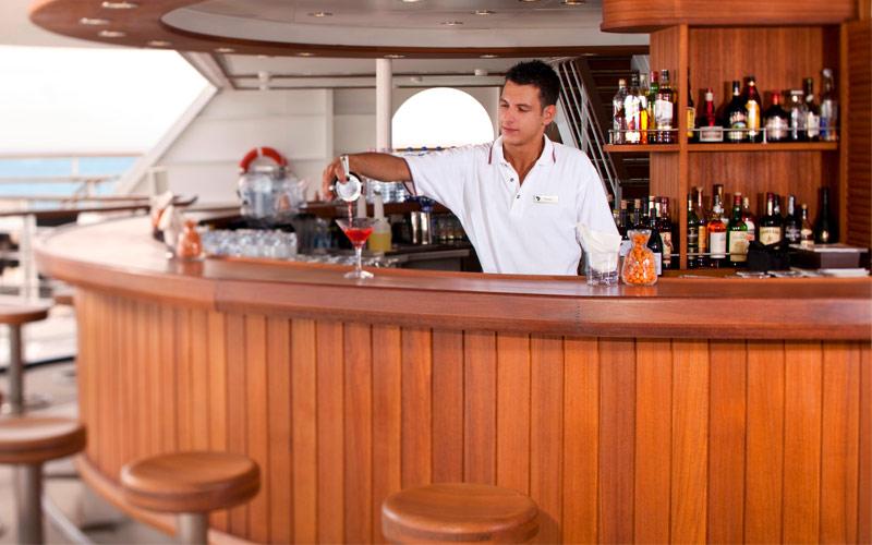 Seabourn Cruise Line Seabourn Sojourn Sky Bar