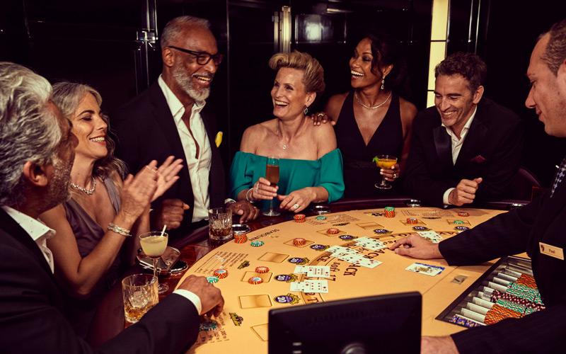 Casino aboard Seabourn Encore