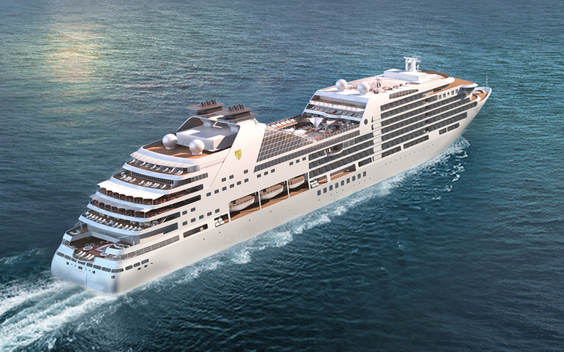 Seabourn Ovation Aft Rendering