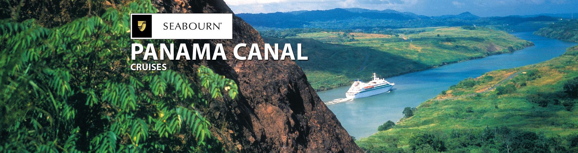 Seabourn Cruise Line Panama Canal Cruises
