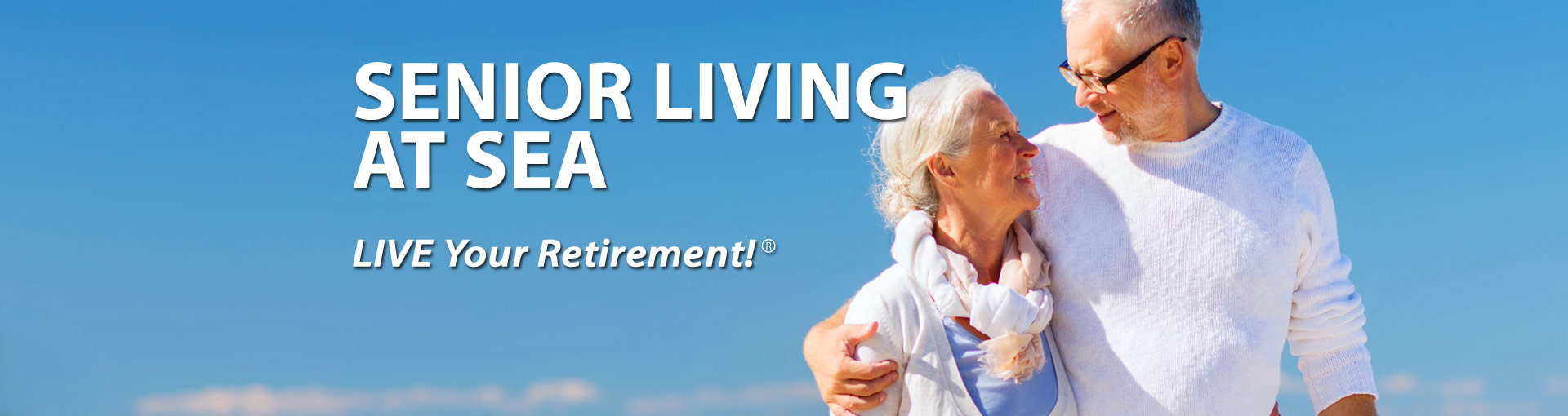 Senior Living at Sea - Retired couple