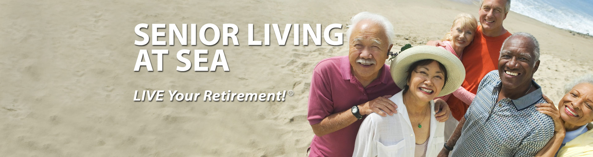 Senior Living at Sea - Retired friends