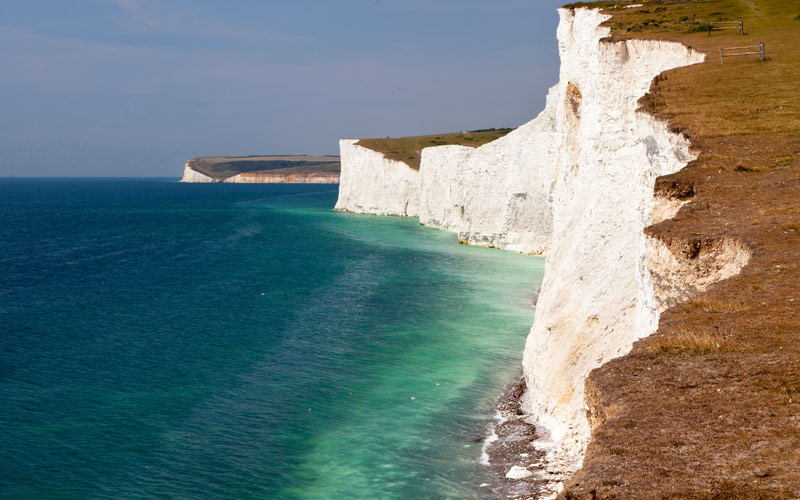 Seven Sisters White Cliffs South East England