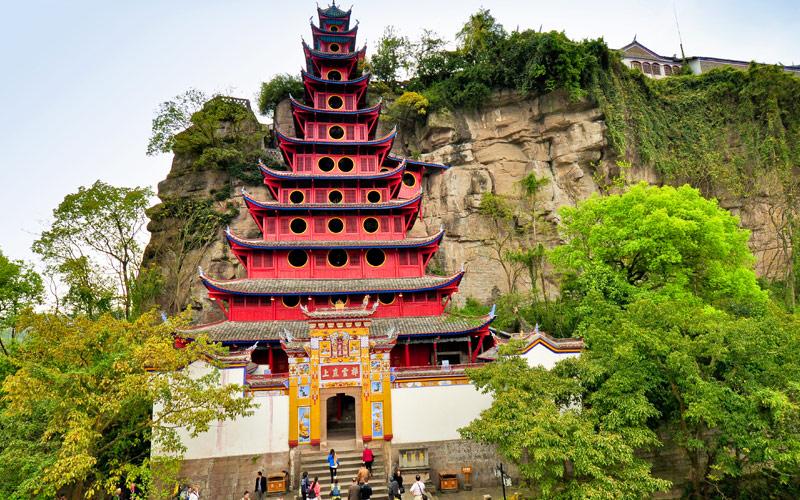 Shibaozhai Pagoda Shibao Chongqing