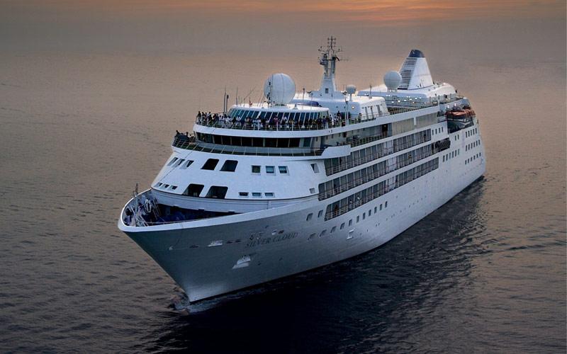 Silversea Cruise Line Silver Cloud exterior