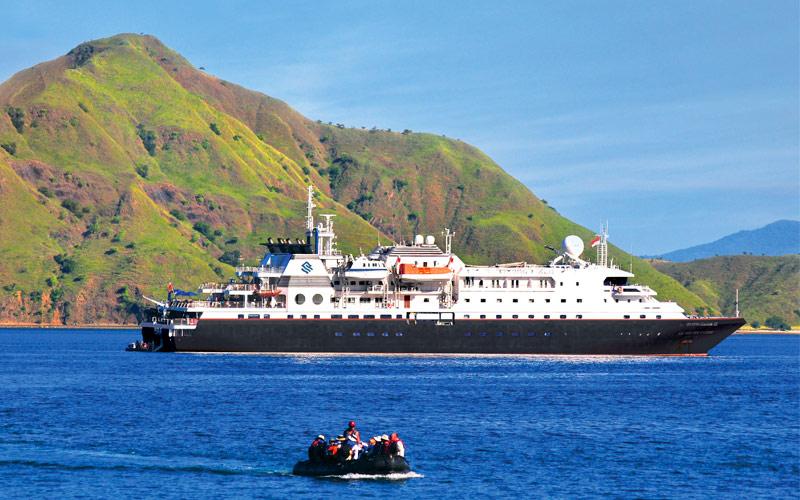 Silversea Cruise Line Silver Discoverer exterior