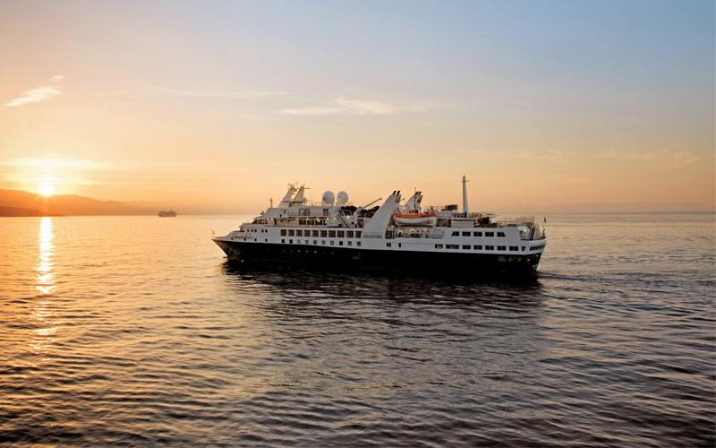 Silversea Cruise Line Silver Explorer exterior