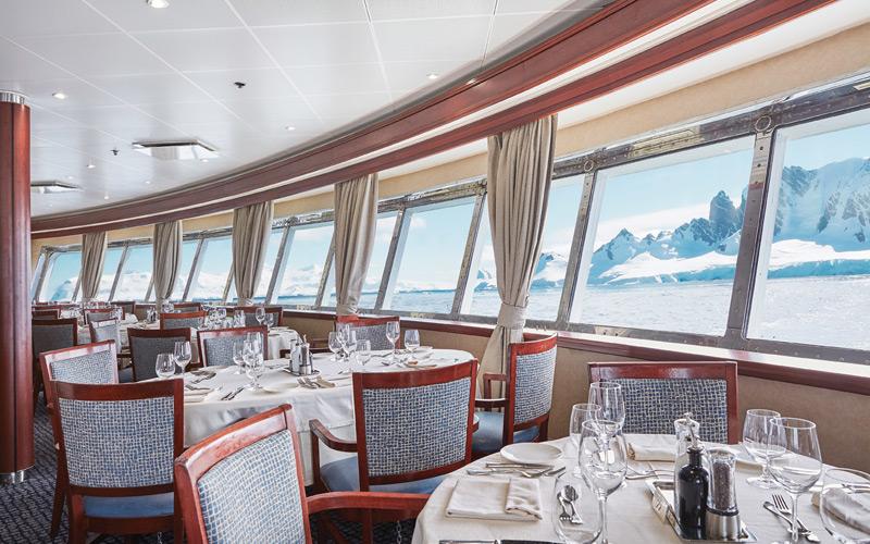 Silversea Cruises Silver Explorer The Restaura