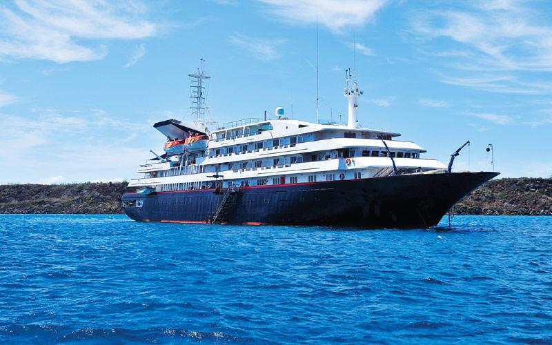 Silversea Cruise Line Silver Galapagos exterior