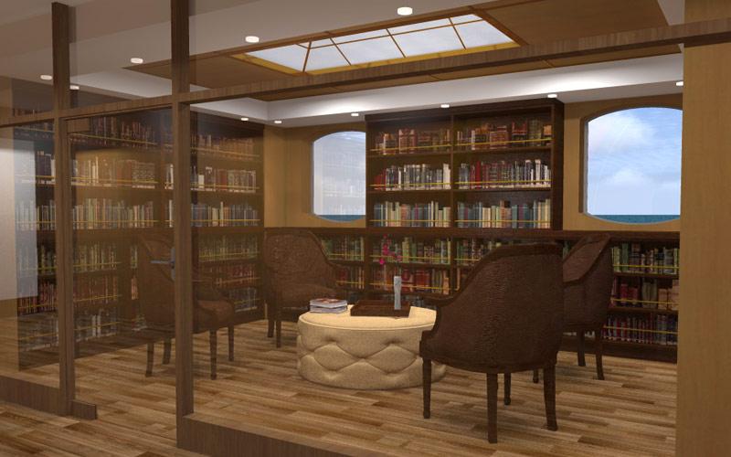 Silversea Cruise Line Silver Galapagos Library