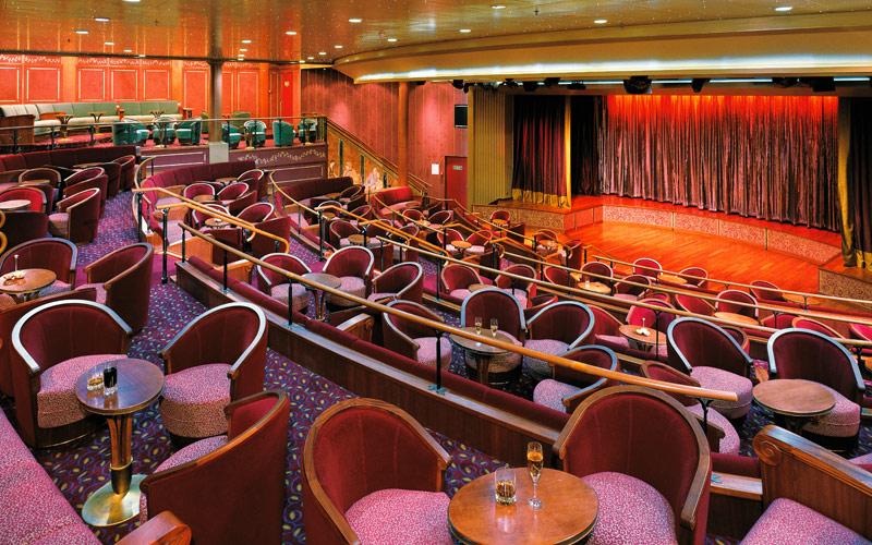 Silversea Cruise Line Silver Shadow Show Lounge