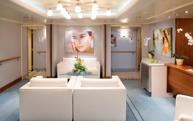 Silversea Cruise Line Silver Shadow spa