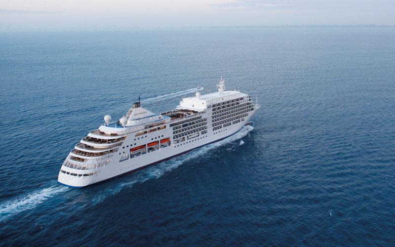 Silversea Cruise Line Silver Spirit exterior 01