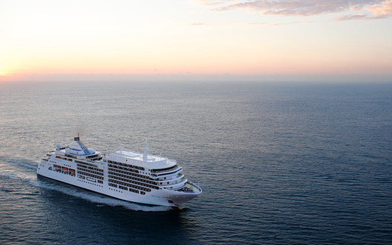 Silversea Cruise Line Silver Spirit exterior