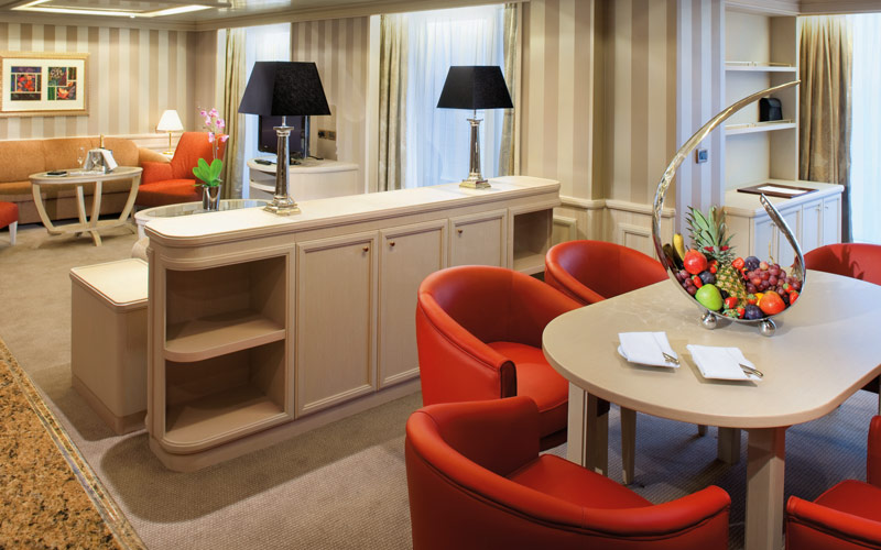 Silversea Cruise Line Silver Spirit Owners Suite