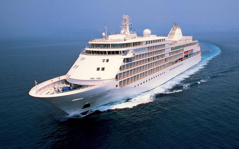 Silversea Cruise Line Silver Whisper exterior
