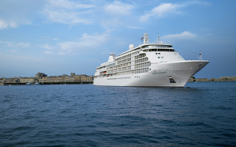 Silversea39s Silver Whisper Cruise Ship 2017 And 2018