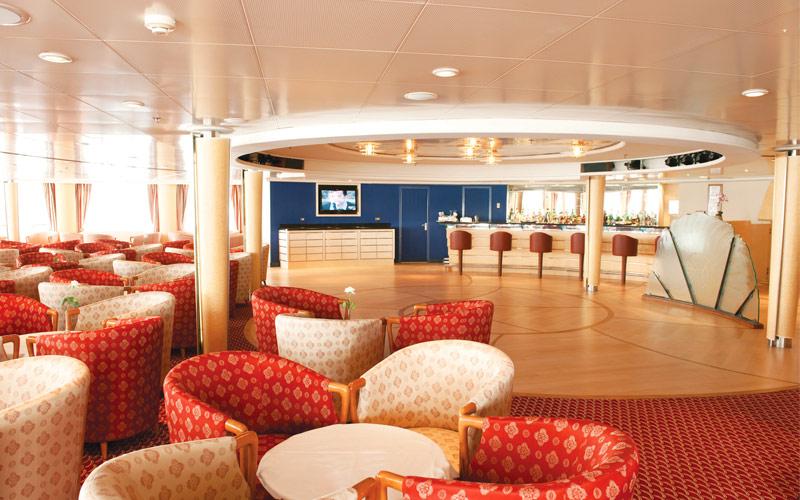 Silversea Cruise Line Silver Whisper panorama loun