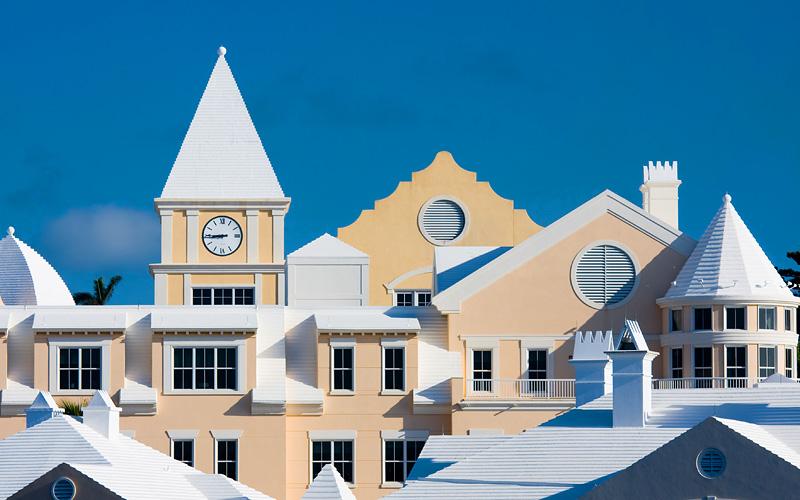 Bermudian architecture Silversea Transatlantic