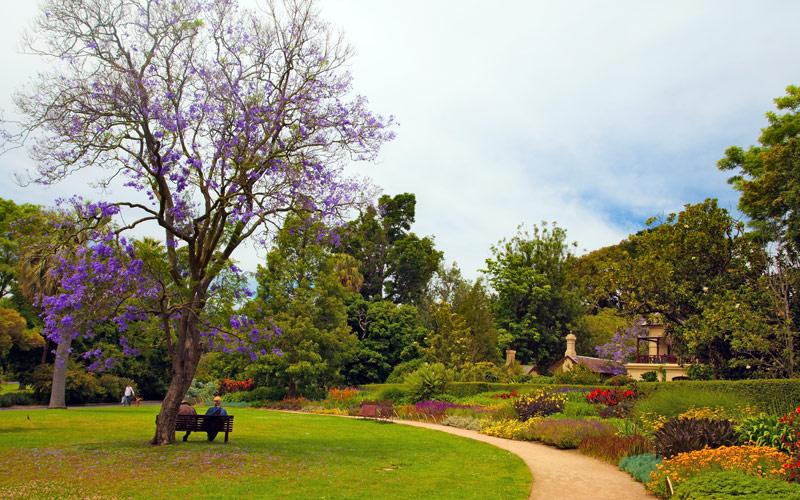Botanic Garden in Melbourne, Australia Silversea