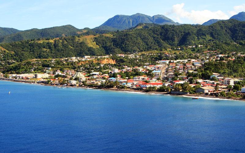 Roseau, Dominica Silversea Caribbean